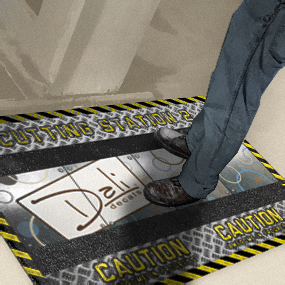 Dali Studios Floor Mats Floor Graphics Graphic Design Jacksonville Miami Orlando Tampa Saint Augustine Daytona