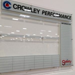 Crowley-Acrylic white board