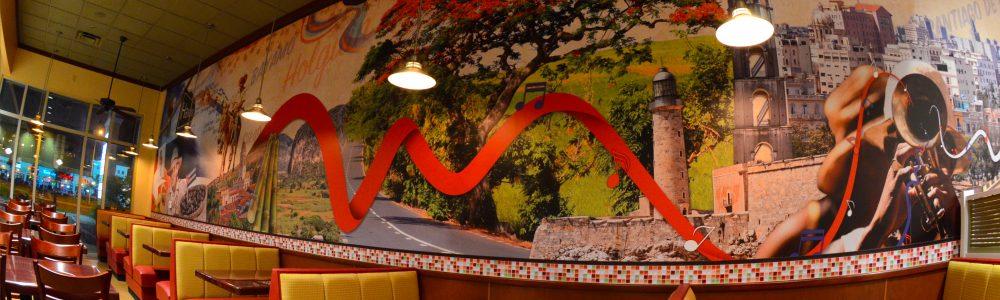 Mambos Cafe Mural