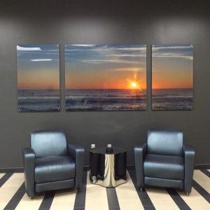 Tripych Acrylic Panels