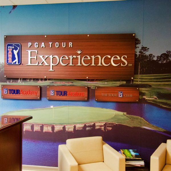 dali-decals-pga-tour-experience-headquarters-lobby